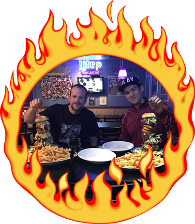 The Terminator Challenge at Bad Boyz Bistro in Bedford, PA